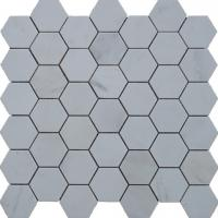 Buy cheap Brown Marble Mosaic,Herribone Mosaice,Hexagon Mosaic,Basket Wave Design Mosaic from wholesalers
