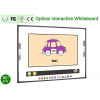 Buy cheap Touch Screen Optical Technology Interactive Electronic Whiteboard for Multimedia Classroom from wholesalers