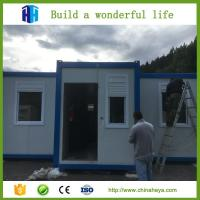 Buy cheap HEYA hot sale eps or rockwool panel container camp house prefab house from wholesalers