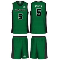 Buy cheap Quick Dry Fit Sublimated Youth Reversible Basketball Uniforms Ribbed Collar ESB-49 from wholesalers