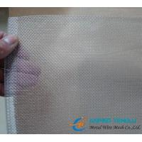 Buy cheap Aluminum Alloy Insect Screen, 18×16mesh, 0.011 Wire, Prevent Insects from wholesalers