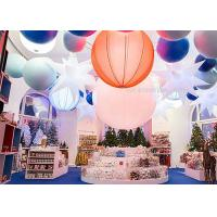 Buy cheap 1.6M  Inflatable Lighting Decoration 240W , Led Hanging Outdoor Christmas Snow Globe Lights from wholesalers