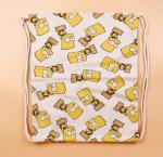 Buy cheap Fashion Cartoon 3D Digital Printed Drawstring Bag Travel Bag Gift Backpack Wholesale from wholesalers