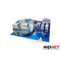 Buy cheap Custom Point Of Sale Counter Display Stands For Otrivin Drug , W500*D250*H300mm from wholesalers