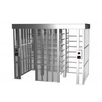 Buy cheap Subway Full Height Turnstile Barrier Gate 35 Persons / Min RS485 One - Way Direction from wholesalers