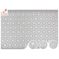 Buy cheap Sri Lanka Guipure Venice Polyester Lace Trims With Embroidered Floral Pattern product