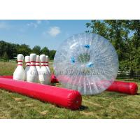 Buy cheap PVC Inflatable Zorb Ball With Human Bowling Balls from wholesalers