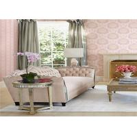 Buy cheap European Style Washable Vinyl Wall Coverings Durable Peelable Vinyl Wallpaper product