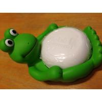 Buy cheap Animal Design Bathroom Plastic Soap Dish , Duck / Frog Soap Dish Non Phthalate Vinyl from wholesalers