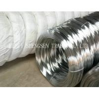 Buy cheap Zinc Coated 8 Gauge Steel Wire , 18 Gauge Binding Wire For Nail Making / Barbed Wire from wholesalers