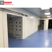 Buy cheap Class 100000 SUS 304 Frame Clean Room ISO8 China from wholesalers