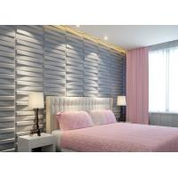 Buy cheap 3D Wood Texture Wall Paper 3D Wall Tile for Kitchen / Living Room / Bedroom Wall product