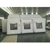 Buy cheap White 7*5m Unslead Inflatable Event Tent For Shelter , Warehouse from wholesalers