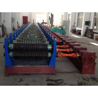 Buy cheap Corrugated Metal Culvert Pipe Making Machine With Double-cones Uncoiler from wholesalers