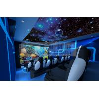 Buy cheap Motion Rides 5D Movie Theater Equipment 1 Seat 2 Seats 3 Seats With Electric System product