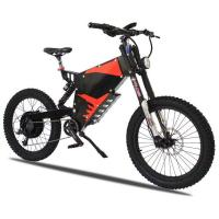 Buy cheap E Bike Electric Powered Bicycle , Stealth Bomber Electric Bike 3000W B 52 Brushless Motor from wholesalers