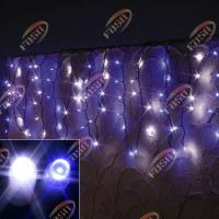 Buy cheap Waterproof Outdoor Purple Short Strings LED Icicle Light for Market Wall Advertisement 36W from wholesalers