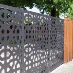 Buy cheap Short Small Metal Garden Fence Panels from wholesalers