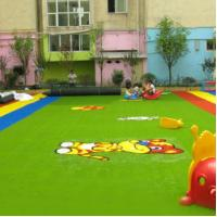 Buy cheap Kindergarten Indoor Outdoor Grass Turf 4*25m 2*25m Or Size Customized from wholesalers