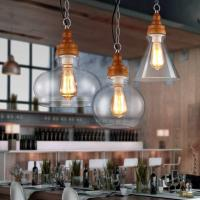 Buy cheap Cut glass pendant light for indoor Coffe Bar Shop Lighting Fixtures (WH-GP-19) from wholesalers