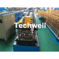 Buy cheap GCr15 Steel Roller Guide Rail Cold Roll Forming Machine With Hydraulic Cutting from wholesalers