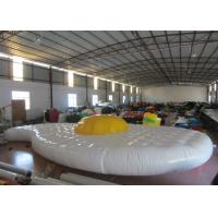 Buy cheap Cute Egg Design Inflatable Water Games Inflatable Safety Mat 9.7 X 5.2m 0.65mm Pvc Tarpaulin from wholesalers