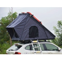 Buy cheap Outdoor Camping Aluminum Hard Shell Roof Top Tent Safe Pop Up Tent product