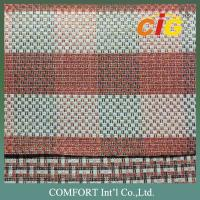 Buy cheap Luxious Linen Sofa Upholstery Fabric / Jacquard car seat upholstery fabric from wholesalers