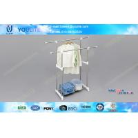 Buy cheap Retractable Stainless Steel Clothes Drying Rack , Commercial Clothing Display Racks from wholesalers