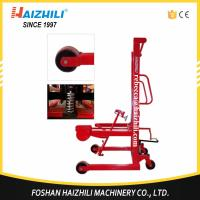 Buy cheap Best selling material handling equipment high quality manual oil drum stacker from wholesalers
