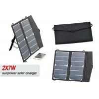 Buy cheap Waterproof Foldable 12V Solar Panel Portable Solar Usb Charger For Mobile Phone product