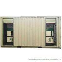 Buy cheap ISO Standard Mobile Gasoline Station Tank Container 20 FT 10000 -20000 Liters from wholesalers