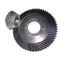 Buy cheap Standard 20crmnti Spiral Bevel Gear With Keyways / Bevel Pinion Gear product
