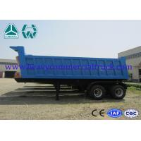 Buy cheap Hydraulic dump semi trailer - front tipping with Air suspension system from wholesalers
