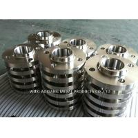 Buy cheap ASTM 316 Mirror Finish Stainless Steel Pipe Flanges Multiple Color Customized Design from wholesalers