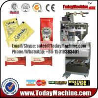 Buy cheap Fully automatic FFS tomato ketchup small sachet/pouch packing machine from wholesalers