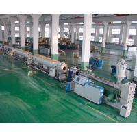 Buy cheap Gas / Water Supply Pipe Extrusion Line PE / HDPE Pipe Welding Machine product