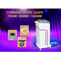Buy cheap 600w Diode Hair Removal Laser Machine Micro Channel 755/808/1064nm Combination from wholesalers