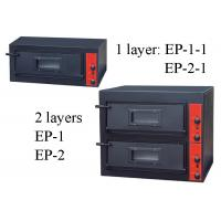Buy cheap Electric Or Gas Commercial Baking Ovens , 1 Deck / 2 Decks Commercial Pizza Ovens from wholesalers