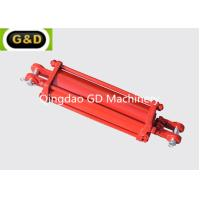 Buy cheap Double Acting 3000PSI Tie Rod Type Hydraulic Cylinder Used On Lawn Mowers product