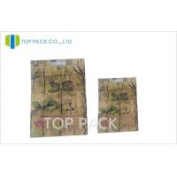 Buy cheap High Barrier Empty Herbal Incense Bags Double Zipper With Customizable Printing product