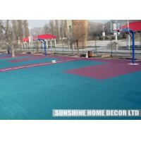 Buy cheap Plastic Interlocking Floor Tiles / Easy-to-use Multi-Function Tile Portable Event Flooring from wholesalers