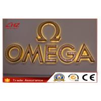 Top quality Dimensional LED Illuminated Waterproof Advertising Letter Signs For Business for sale