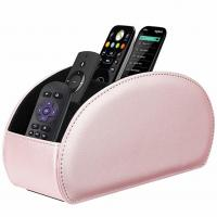 Buy cheap Remote Control Holder Vegan Leather TV Remote Caddy Desktop Organizer 5 Compartments Fits TV Remotes Media Controllers from wholesalers
