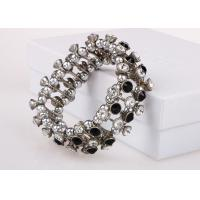 Buy cheap Multi Strand Costume Jewelry Bracelets With Diamonds , Silver Friendship Bracelets from wholesalers