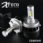Super Bright Led Headlight Bulb H4 HB2 9003 Canbus Headlight Bulbs CE / RoHs