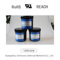 Buy cheap 1 kg white lubricating silicon greasewith no odor for thermal conduction from wholesalers