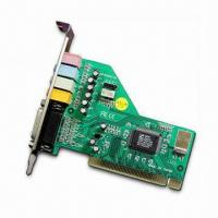 Buy cheap PCI Sound Card with CMI8738 Chipset, Supports DOS and Microsoft's Windows 2000/Me/NT/Linux OS from wholesalers