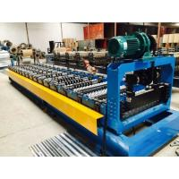 Buy cheap Add to CompareShare Trapezoidal Sheet Metal Roof Bending Machine Colored Metal sheet roof and Wall Panel roll former from wholesalers