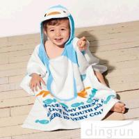 Buy cheap Super Soft Boys Towel Poncho , Personalised Poncho Towels For Toddlers from wholesalers